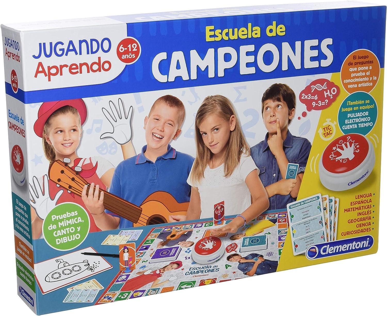 Clementoni- Escuela de Campeones, Multicolor (55273): Amazon.es ...