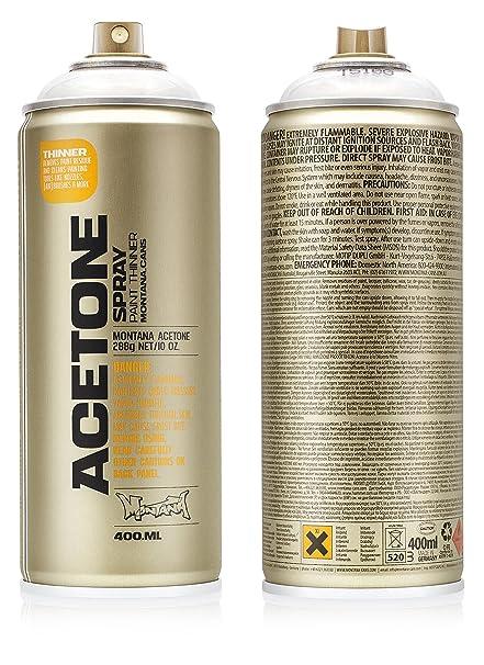 Montana Cans MXT-T5100 Montana TECH 400 ml Acetone Spray Paint