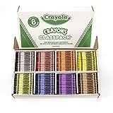 Crayola 800 Ct Crayon Classpack, 8 Assorted Colors (52-8008)