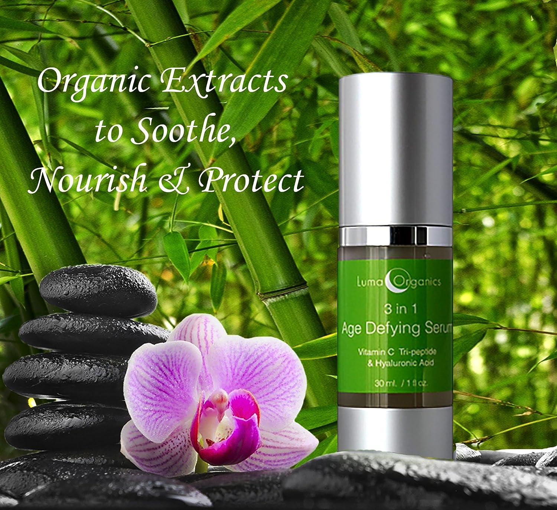 Amazon Com Luma Organics 3 In 1 Vitamin C Hyaluronic Acid