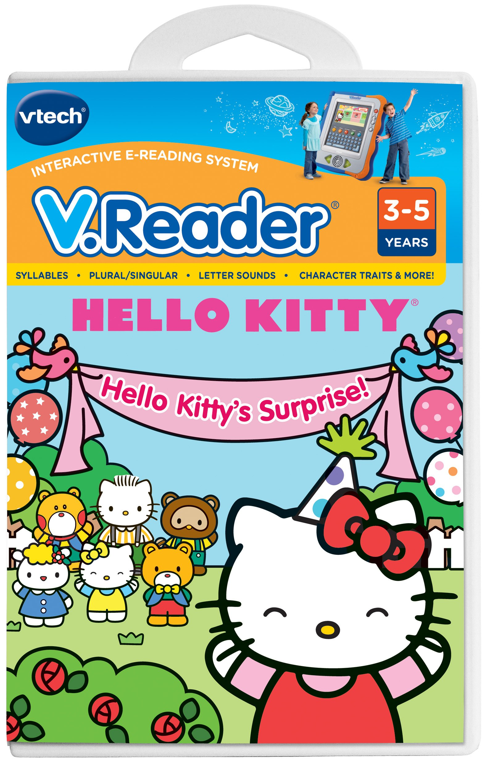 VTech V.Reader Cartridge - Hello Kitty
