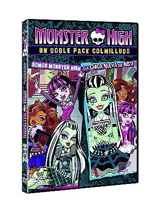 Monster High: Chica Nueva En El Insti + Somos Monster High DVD ...