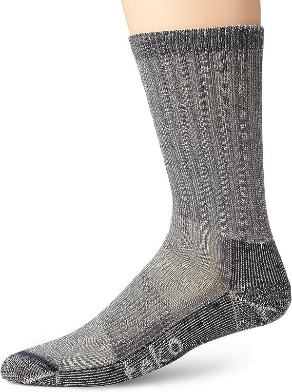 Teko Summit Series Mens Mid Hiking Socks Charcoal