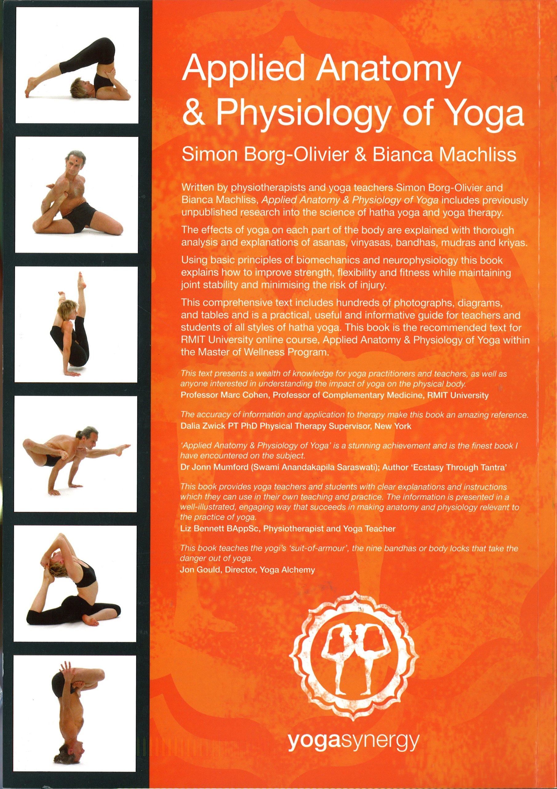Applied Anatomy & Physiology of Yoga: Simon Borg-Olivier and Bianca ...