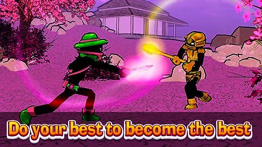 Amazon.com: Stickman Fighting Ring: Shadow Kung Fu Master ...