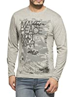 Alan Jones Men's Cotton Printed T-Shirt