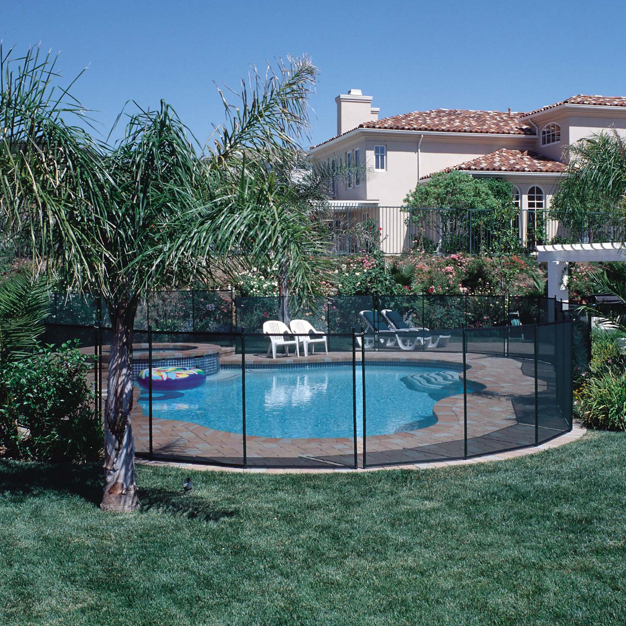 Outdoor Pool Safety Fence 4ftx12ft - Adams Pack