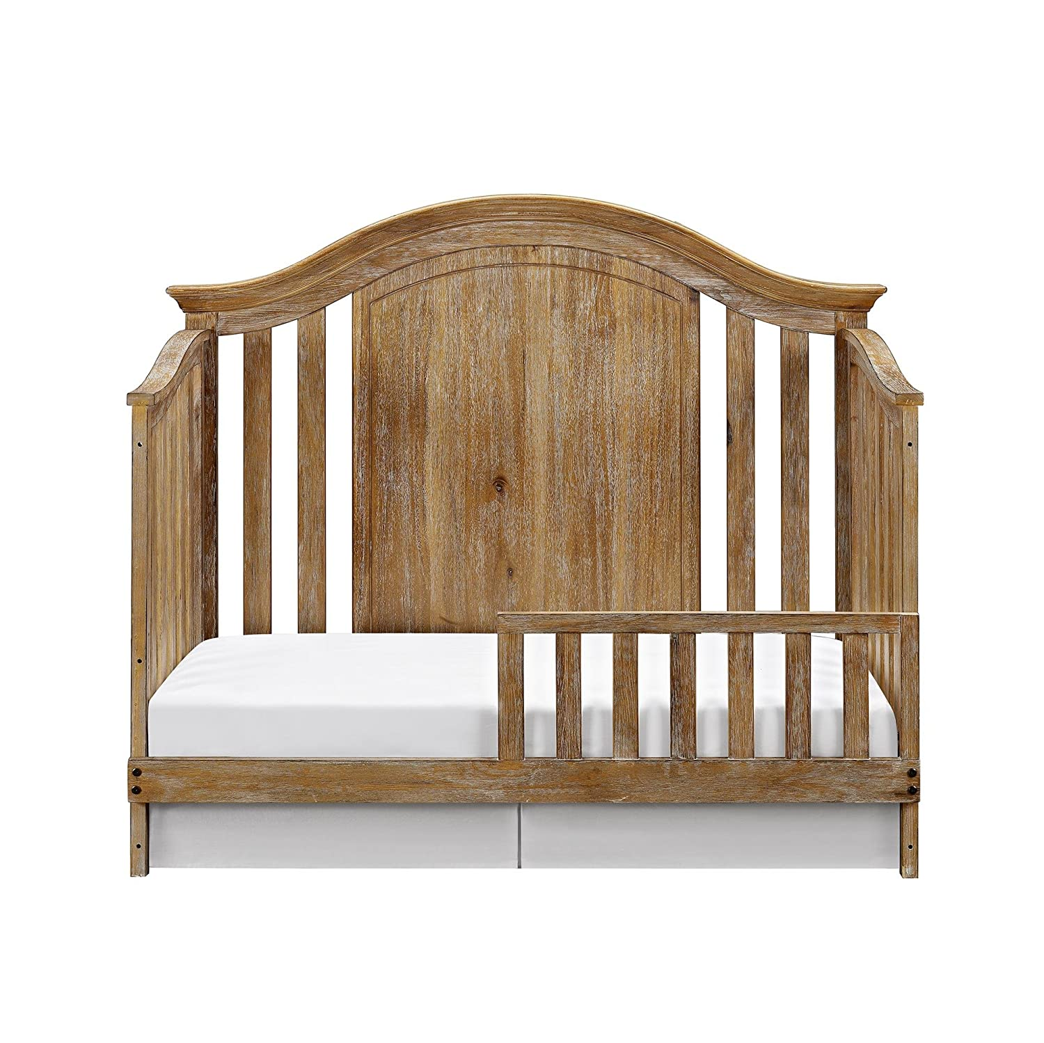 Baby Relax Macy Toddler Rail, Natural Rustic