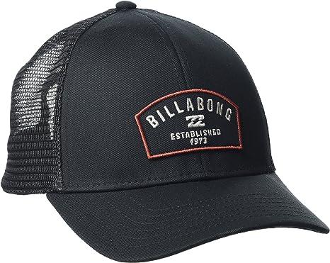 BILLABONG Wharf Trucker Gorra, Hombre, Negro, Talla Única: Amazon ...