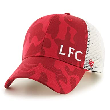 2d5648e2a Image Unavailable. Image not available for. Colour: '47 Brand Liverpool FC  Camo Branson Cap ...
