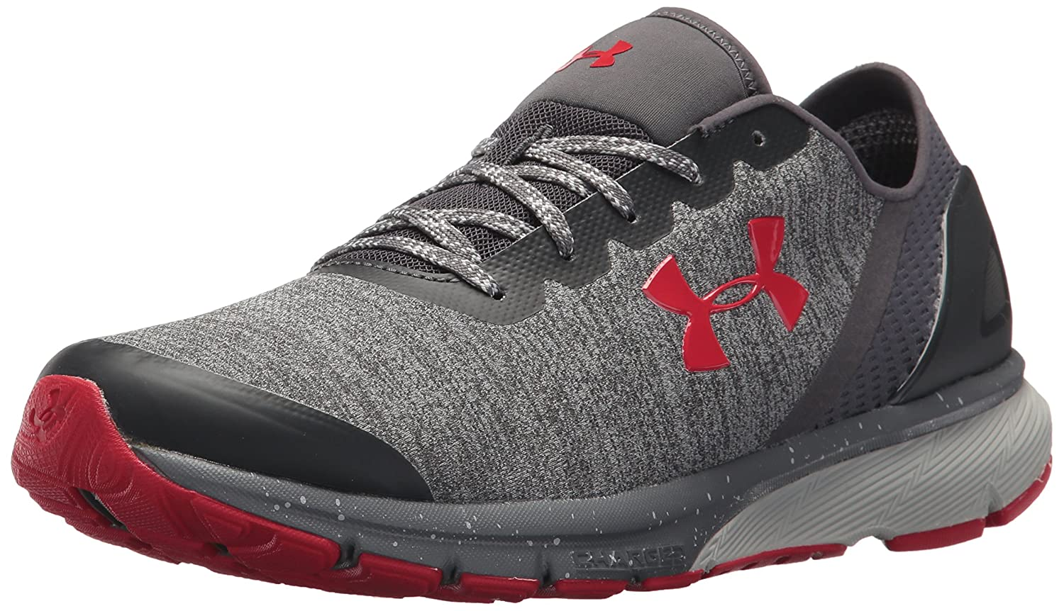 Under Armour Men's Charged Escape Running Shoe B0758HYJMY 8.5 M US|Glacier Gray (102)/Rhino Gray