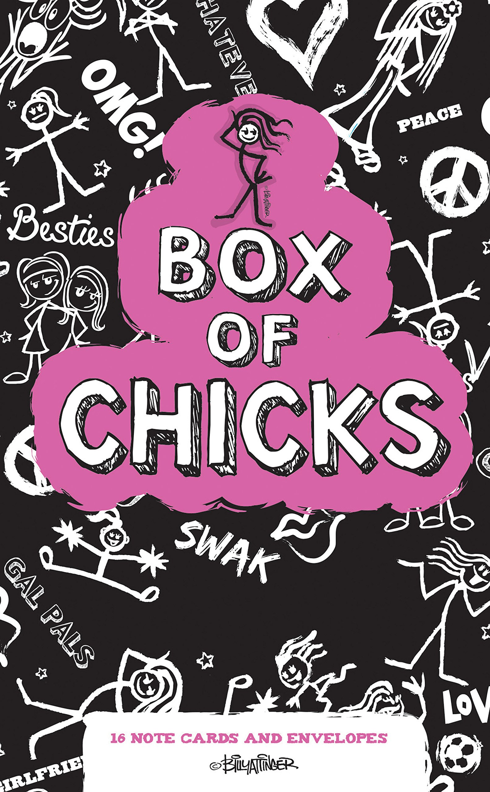 Download Box of Chicks - Cards for Girly Occasions: 16 Note Cards and Envelopes ebook