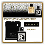 Armaf Oros 2.9 Oz Eau De Parfum Spray for Men with Swarovski ElementsSpecial Free Gift with Purchase