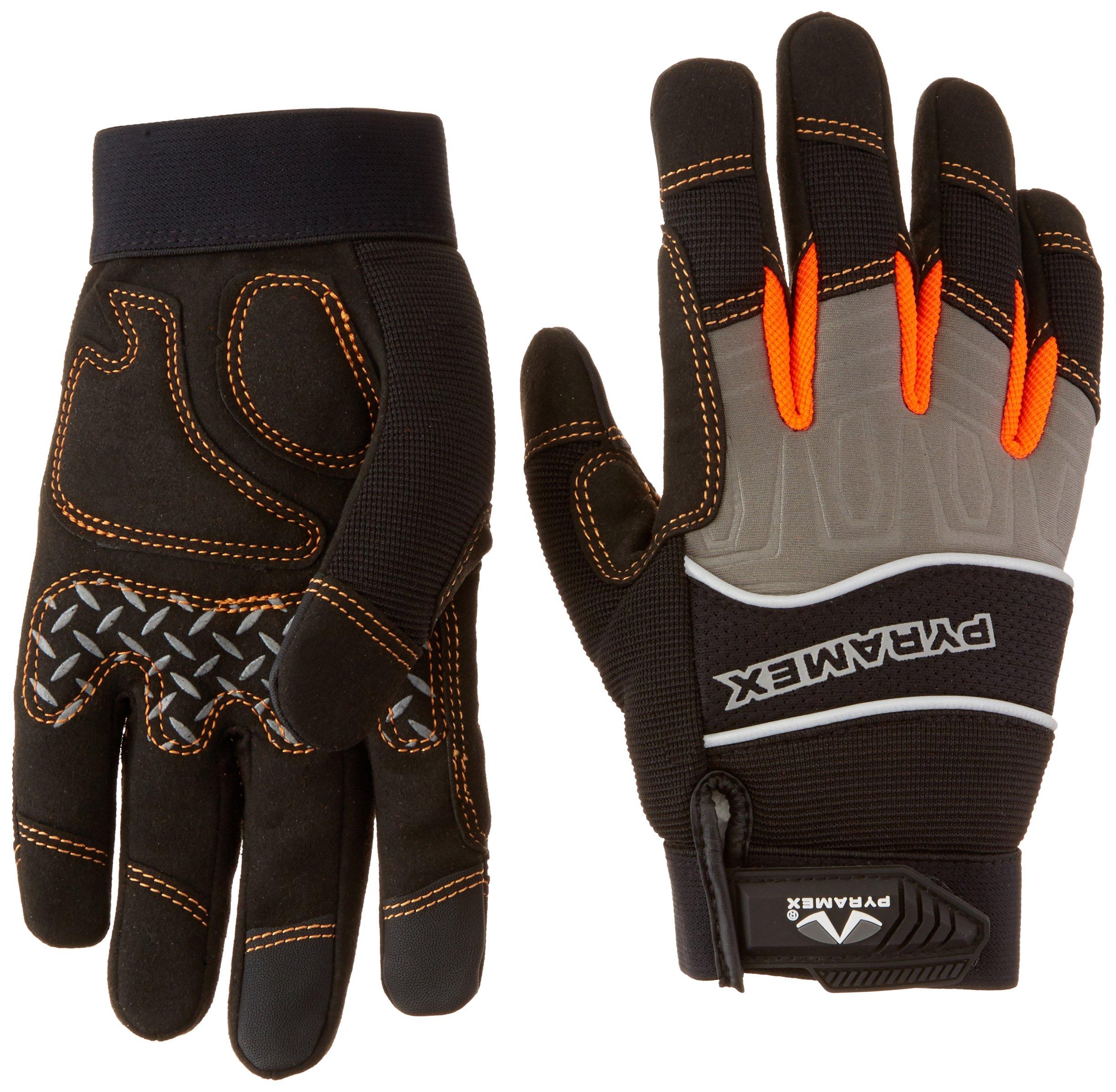 Pyramex Touchscreen-Compatible Medium Duty Work Gloves by Pyramex Safety