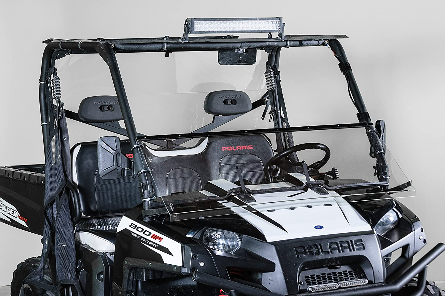 2009 XP, 2010-2014 Best of both worlds Half when you want and Full when you need Made in America FULL-TILT WINDSHIELD Does not fit 900 OR Mid Size POLARIS RANGER FULL SIZE