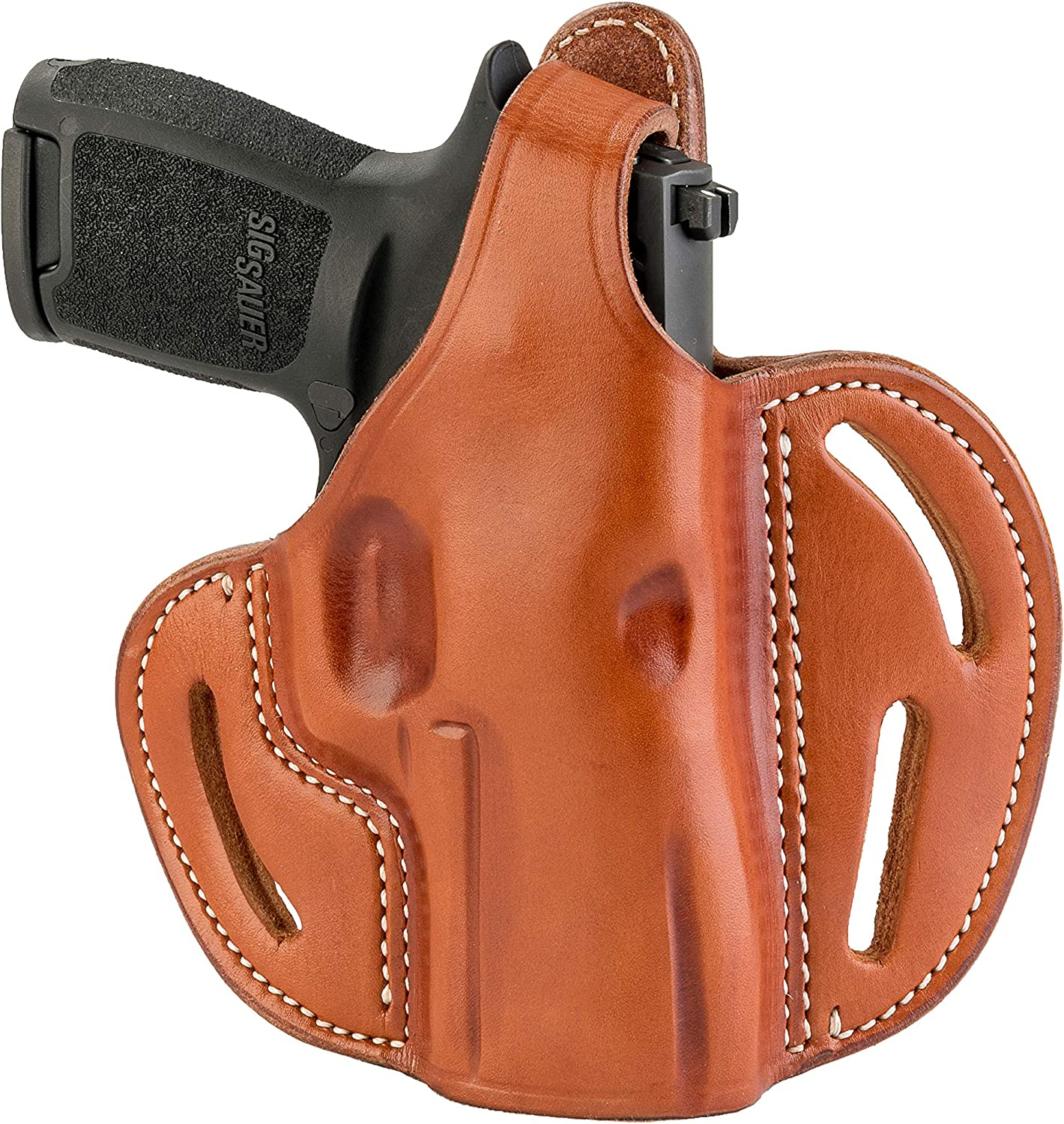 Leather Off Duty Professional Vertical Holster for Sig Sauer P226