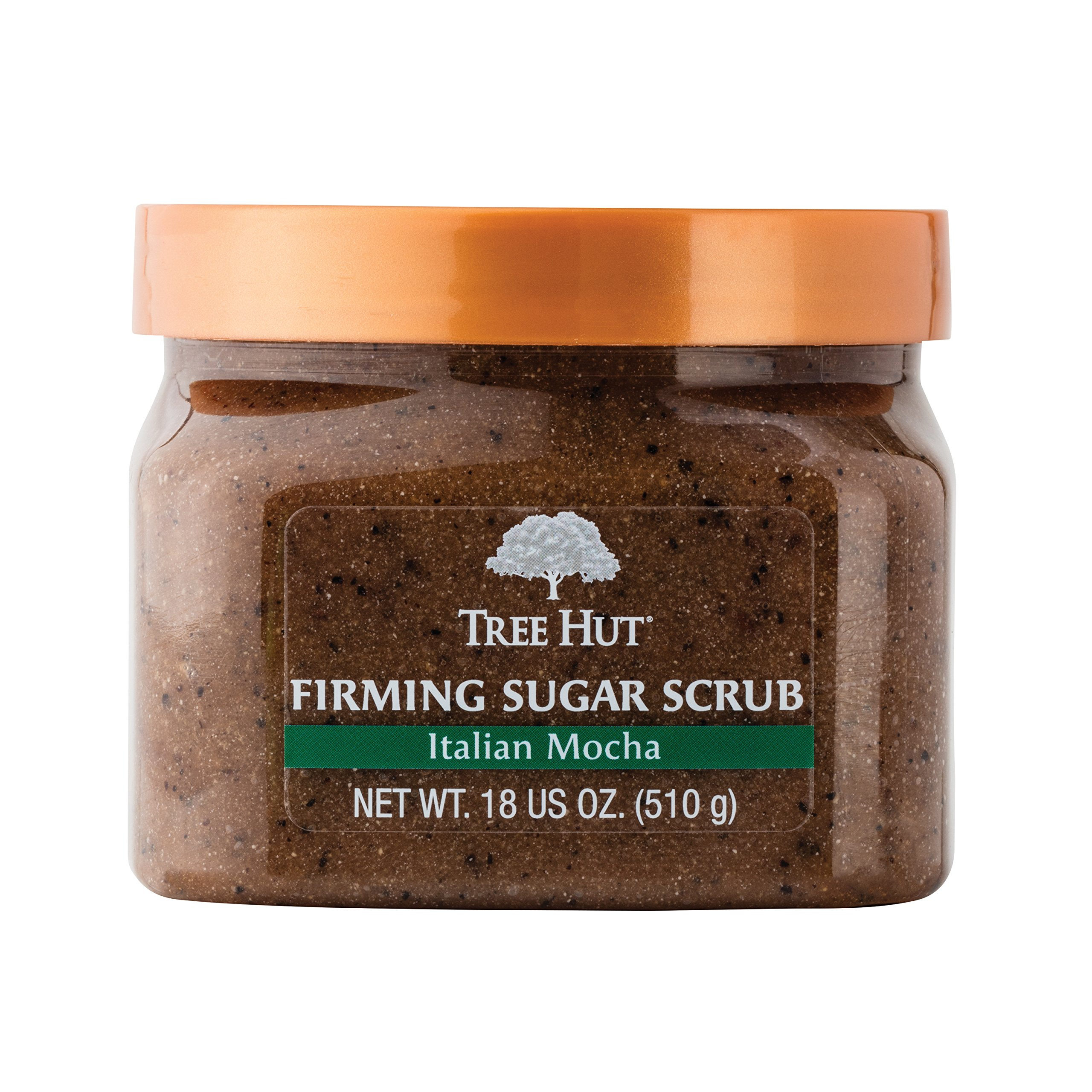 Tree Hut Firming Sugar Scrub, Italian Mocha, 18 Ounce