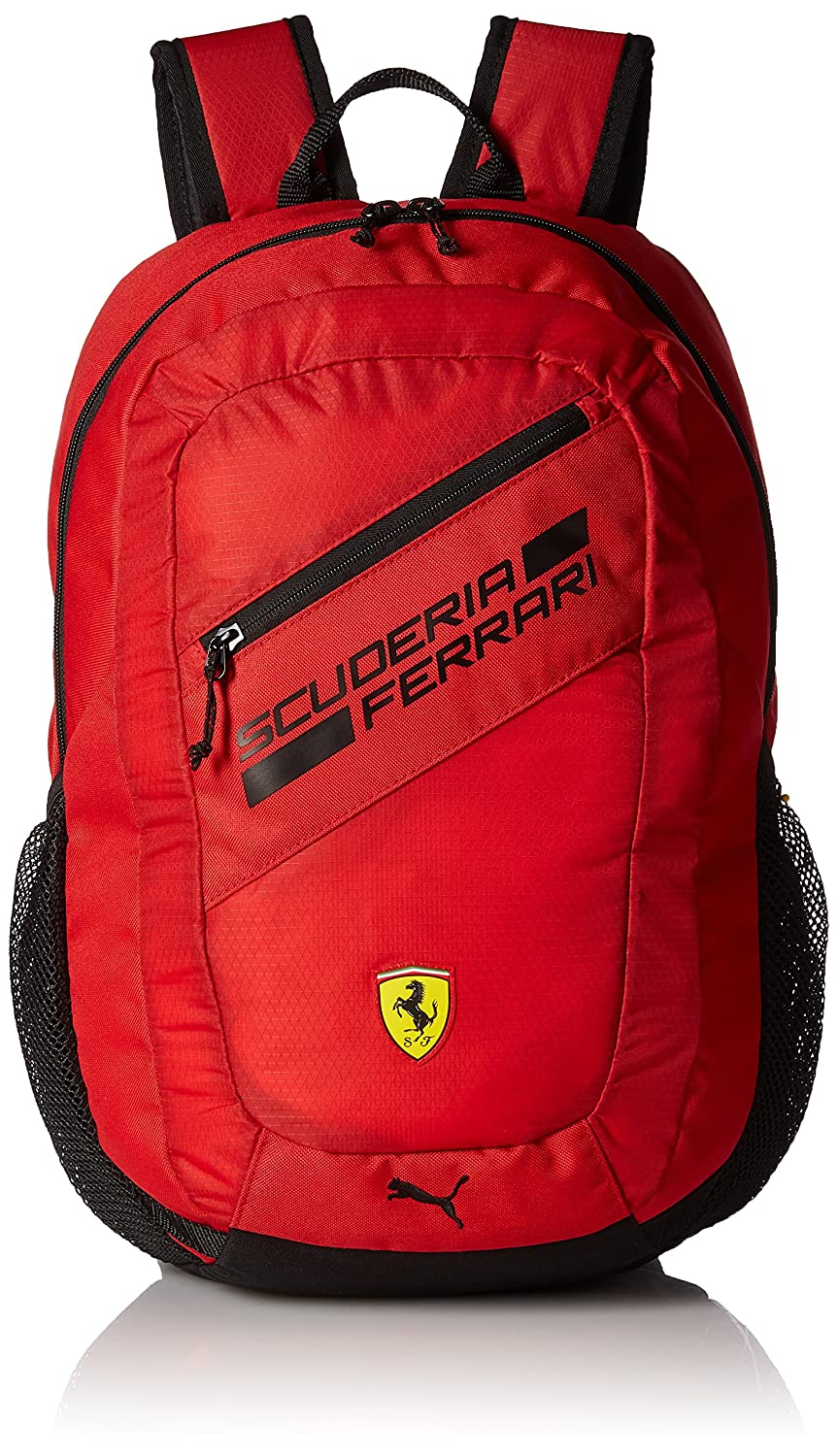 Puma Ferrari Fanwear Backpack Rucksack, Rosso Corsa Black, One size   Amazon.co.uk  Sports   Outdoors 584388718e