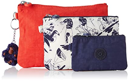 Kipling Iaka Monedero para Mujer, Multicolor (Active Mix ...