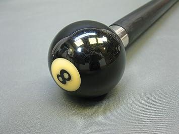 Bola de Billar n 8 Bastón Bastón Bastón de Senderismo (93 cm M 162: Amazon.es: Deportes y aire libre