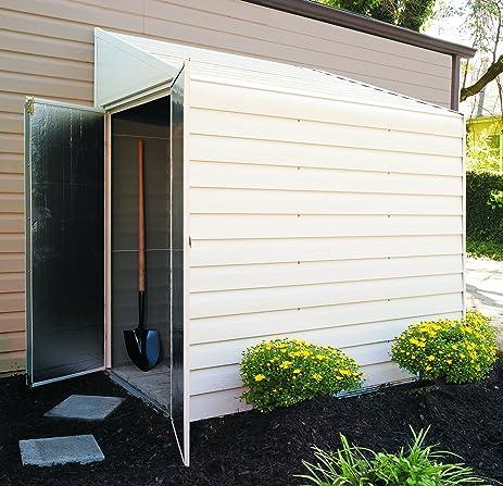 arrow shed ys47 yard saver 4 feet by 7 feet steel storage shed - Garden Sheds 3 Feet Wide
