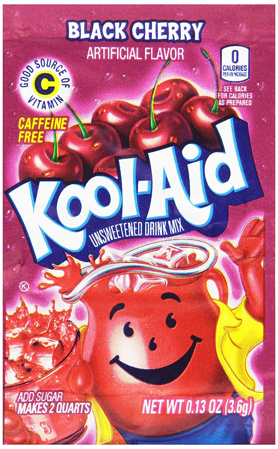 Amazon.com : Kool-Aid Lemon-lime Unsweetened Soft Drink Mix, 0.13-Ounce Envelopes (Pack of 48) : Powdered Soft Drink Mixes : Grocery & Gourmet Food