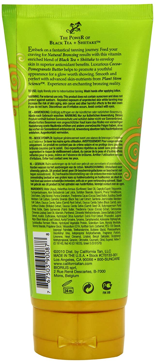 New for 2011! Epicurious Step 2 Natural Bronzing Tanning Lotion By  California Tan 7 Oz