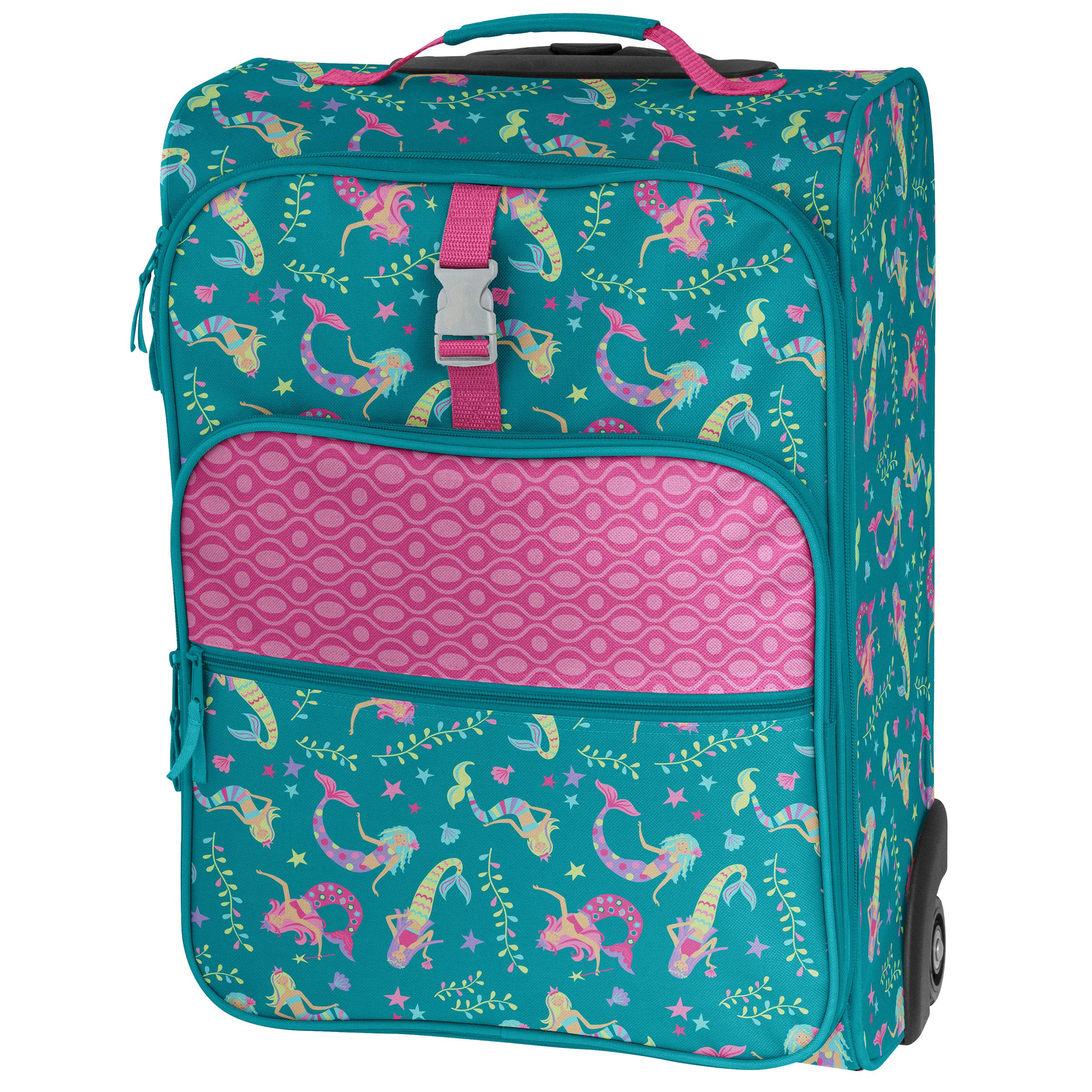 Stephen Joseph All Over Print Luggage, Mermaid