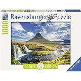 Ravensburger - 19539 8 - Puzzle - Cascade de Kirkjufell, Islande - 1000 Pièces