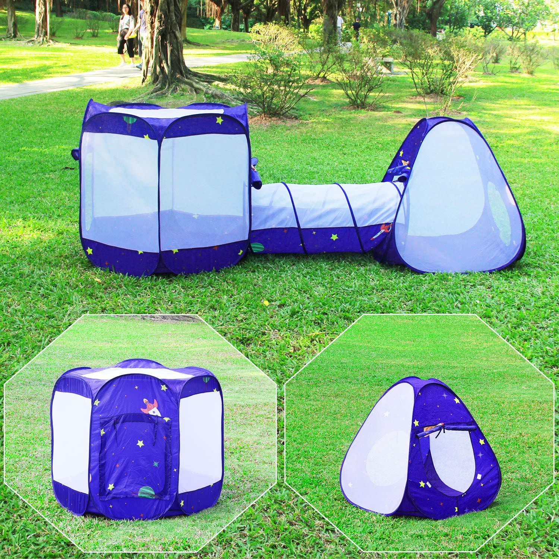Knorrtoys Com 55305 Tenda A 4 Lati Con 100 Palline.Homfu Tenda Casetta Per Bambini E Bambine Per Campeggio Esterno
