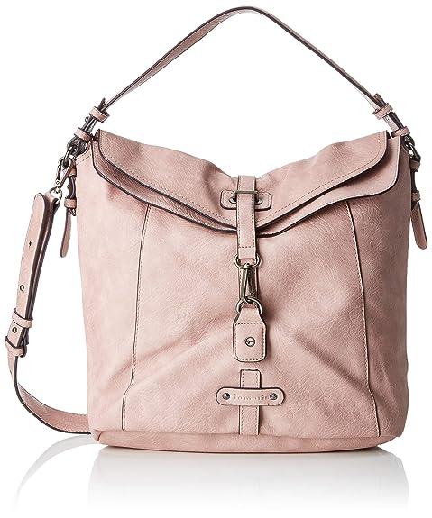 Tamaris Damen Bernadette Hobo Bag Schultertasche, Pink (Rose