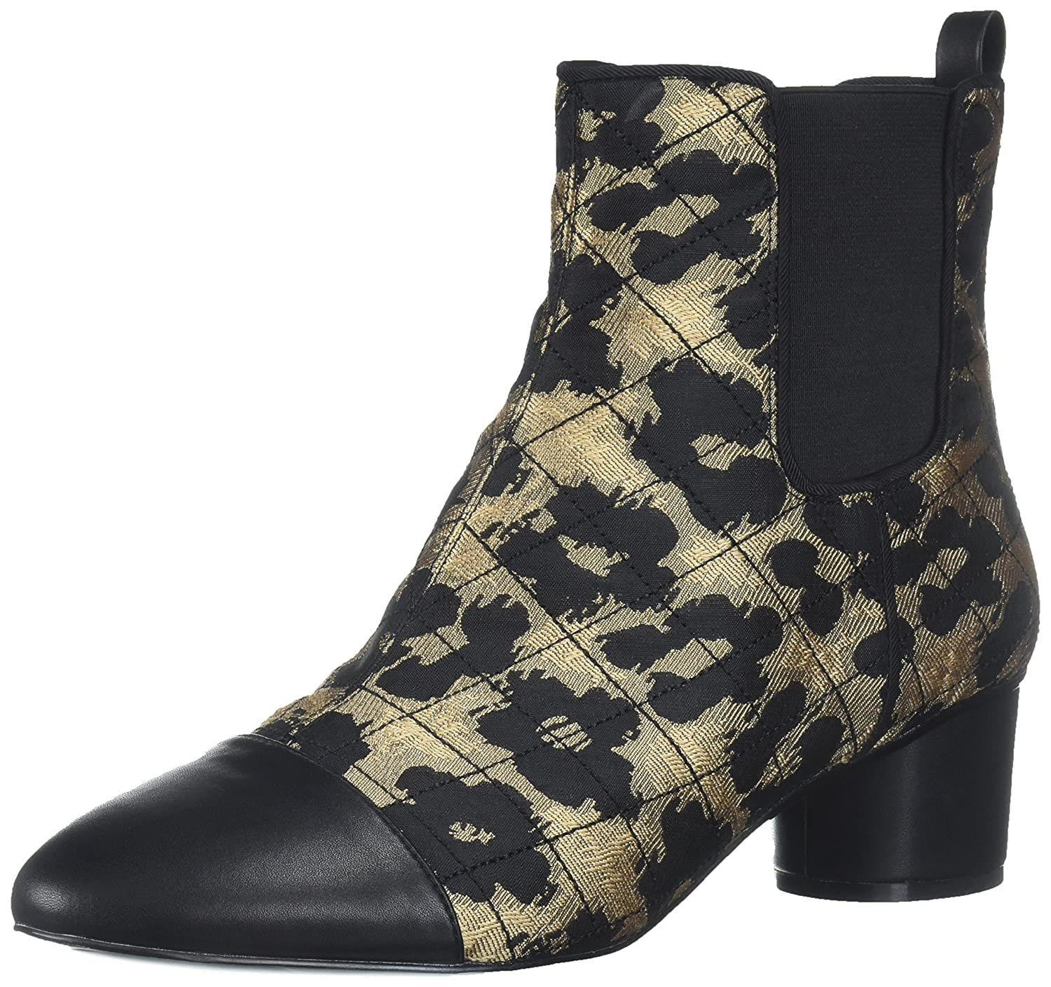 Nine West Women's Interrupt Ankle Boot B06X91QPC2 11 B(M) US|Natural Multi Fabric