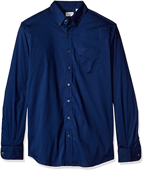 dockers Hombre 54722-0002 Manga Larga Camisa con Botones - Azul ...