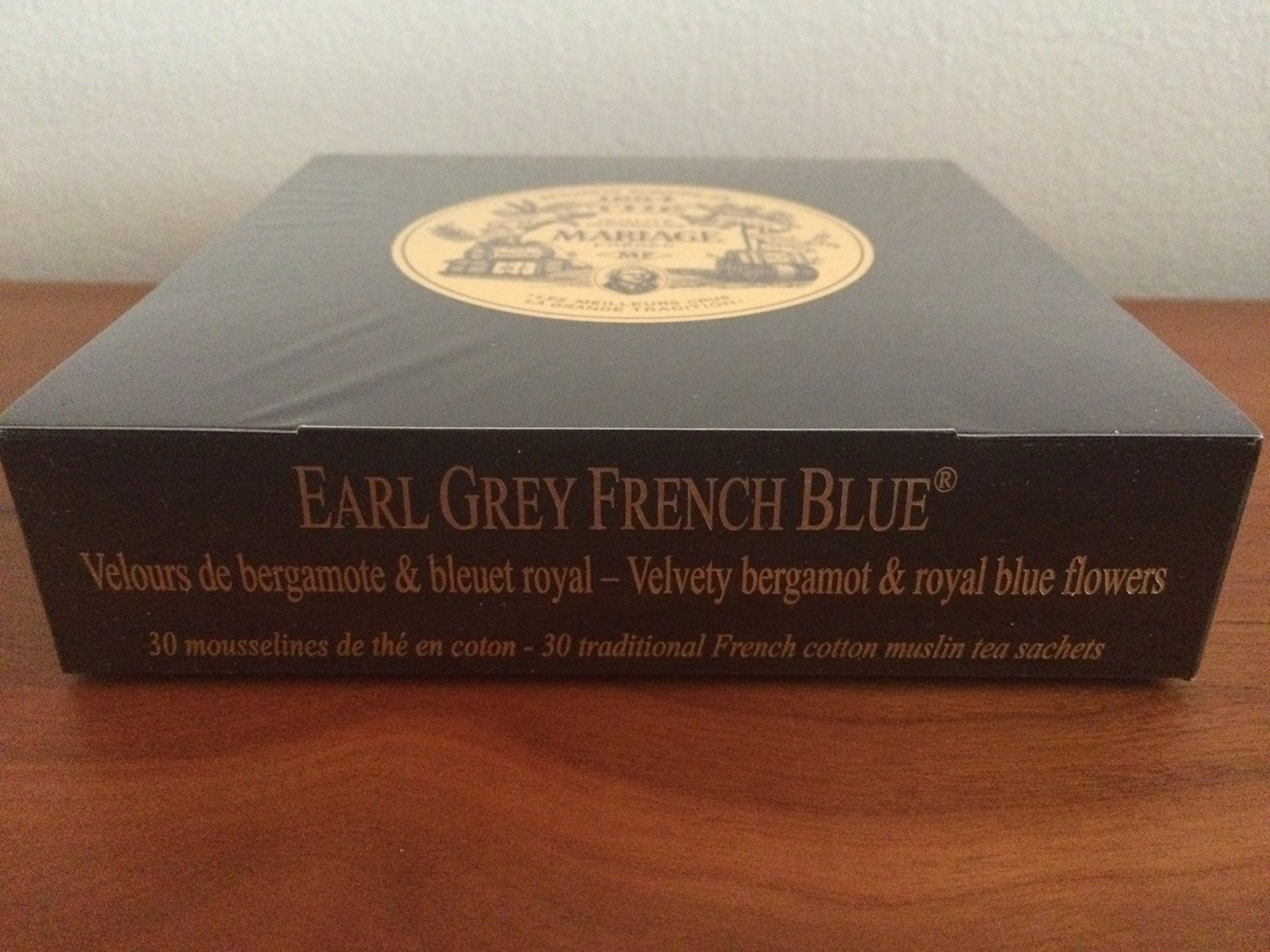 Mariage Frères - EARL GREY FRENCH BLUE® - Box of 30 traditional french muslin tea sachets