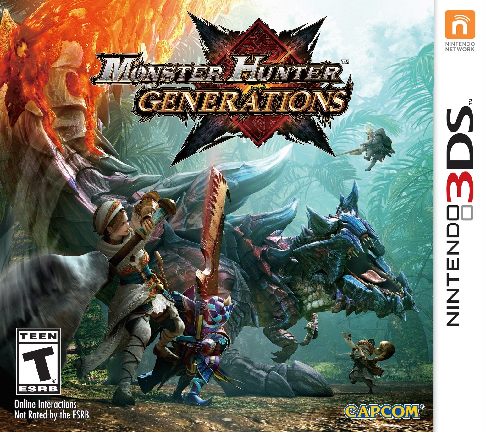 Resultado de imagen para Monster_Hunter_Generations_3DS cover