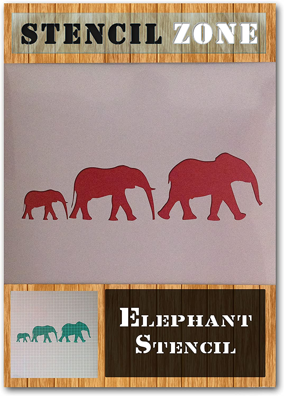 A6 Taille Pochoir - XXSmall Ours Mylar mammif/ères For/êt des animaux sauvages Airbrush Peinture murale Art Artisanat Stencil 2
