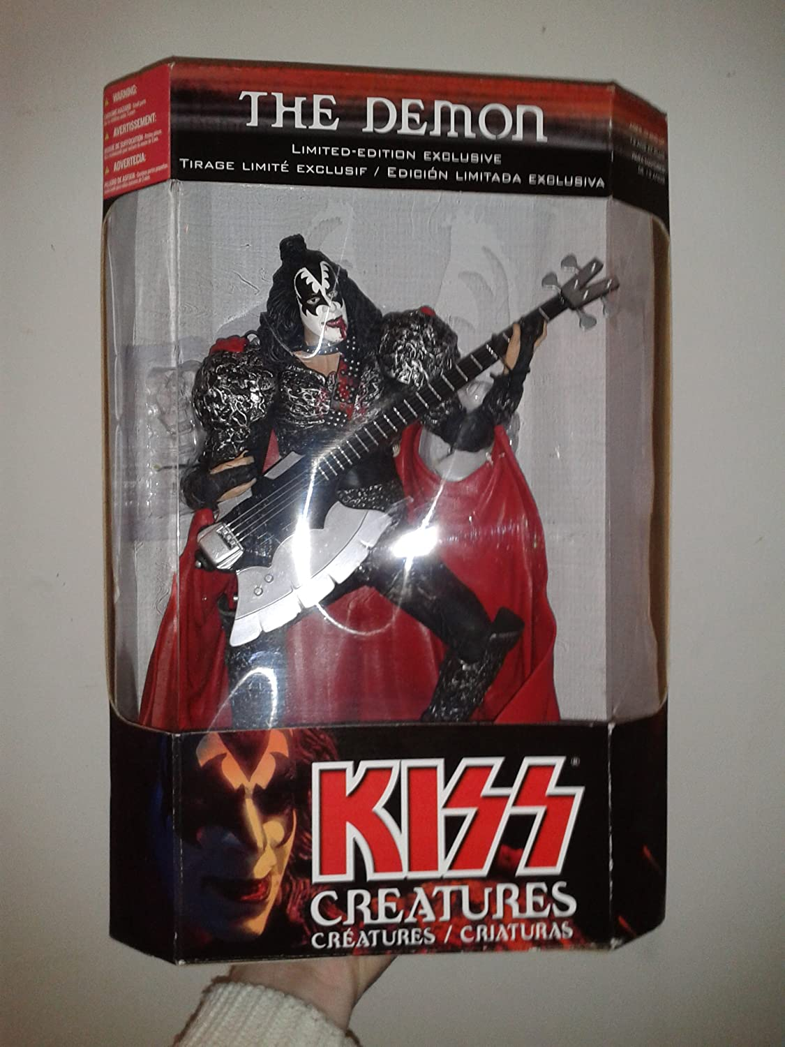 2002 TMT McFarlane Toys Kiss Creatures The Demon Gene Simmons 12  Boxed Limited Edition Exclusive Farlane Action Figure