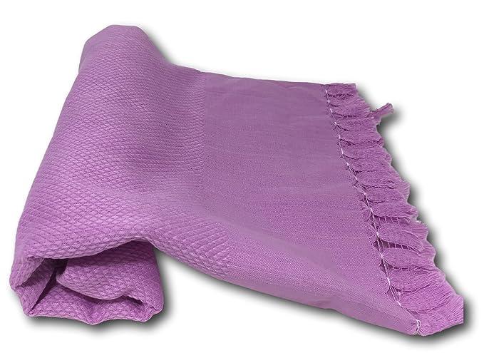 Thin Face Toallas de Baño y Pestemal Toalla de 100% algodón - Sólido Colores - Super absorbente, de secado rápido. Mejor Venta para cabello seco, ...