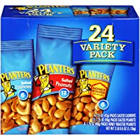 Deals on Planters Nuts Variety Pack 24 count