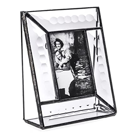 Amazon.com - J Devlin Pic 112-23 Crystal Glass Picture Frame Beveled ...