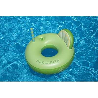 Swimline Margarita Ring Pool Inflatable Ride-On, Green: Toys & Games