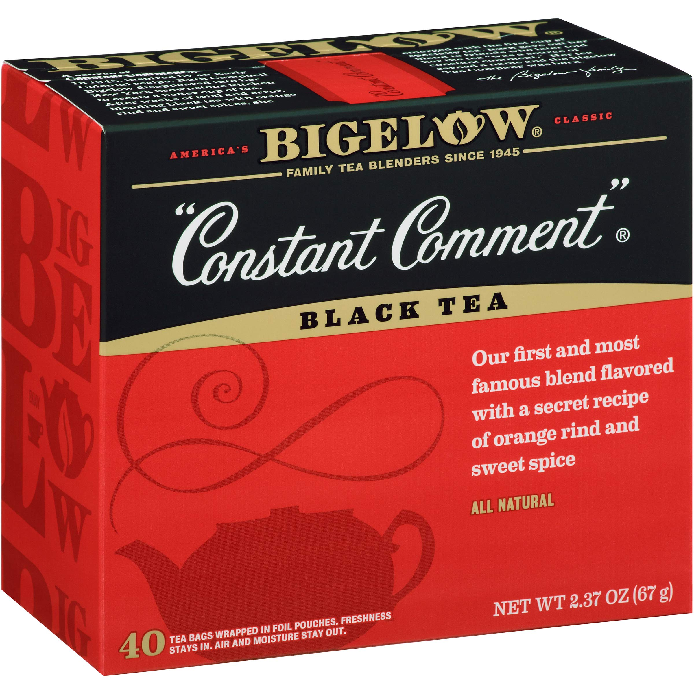 Bigelow Constant Comment Tea, 40 Count (Pack of 6) by Bigelow