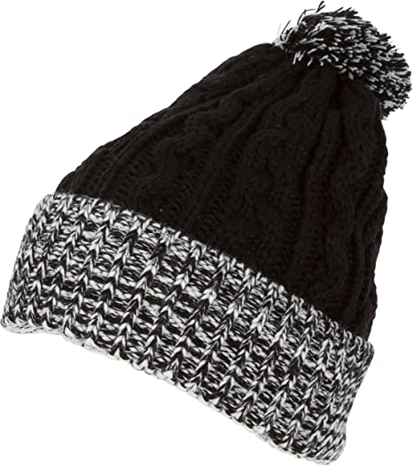 134b02543e9 Sakkas BN16 - Dante Warm Unisex Pom-pom Ribbed Knit Beanie Simple and  Casual -