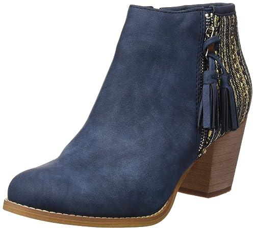 Refresh 063265, Botines para Mujer, Azul (Jeans), 36 EU