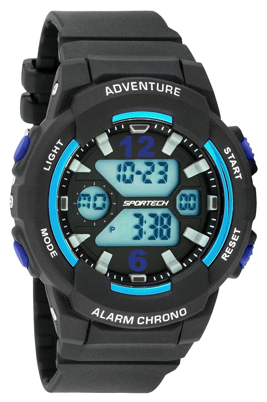 Unisex Relojes Reloj Digital por Gafas–mettallic Serie–Hacer Cada Segundo Conde–SP125