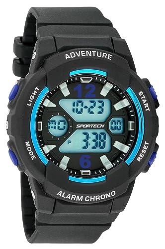 Unisex relojes reloj digital por gafas - mettallic serie - hacer cada segundo Conde - SP125: SPORTECH: Amazon.es: Relojes