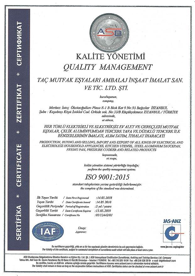 A.C.T. V-TAC Sartén/sartén 32 cm: Amazon.es: Hogar