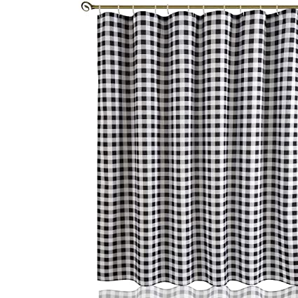 Image Unavailable Not Available For Color Biscaynebay Printed Fabric Shower Curtain Plaid