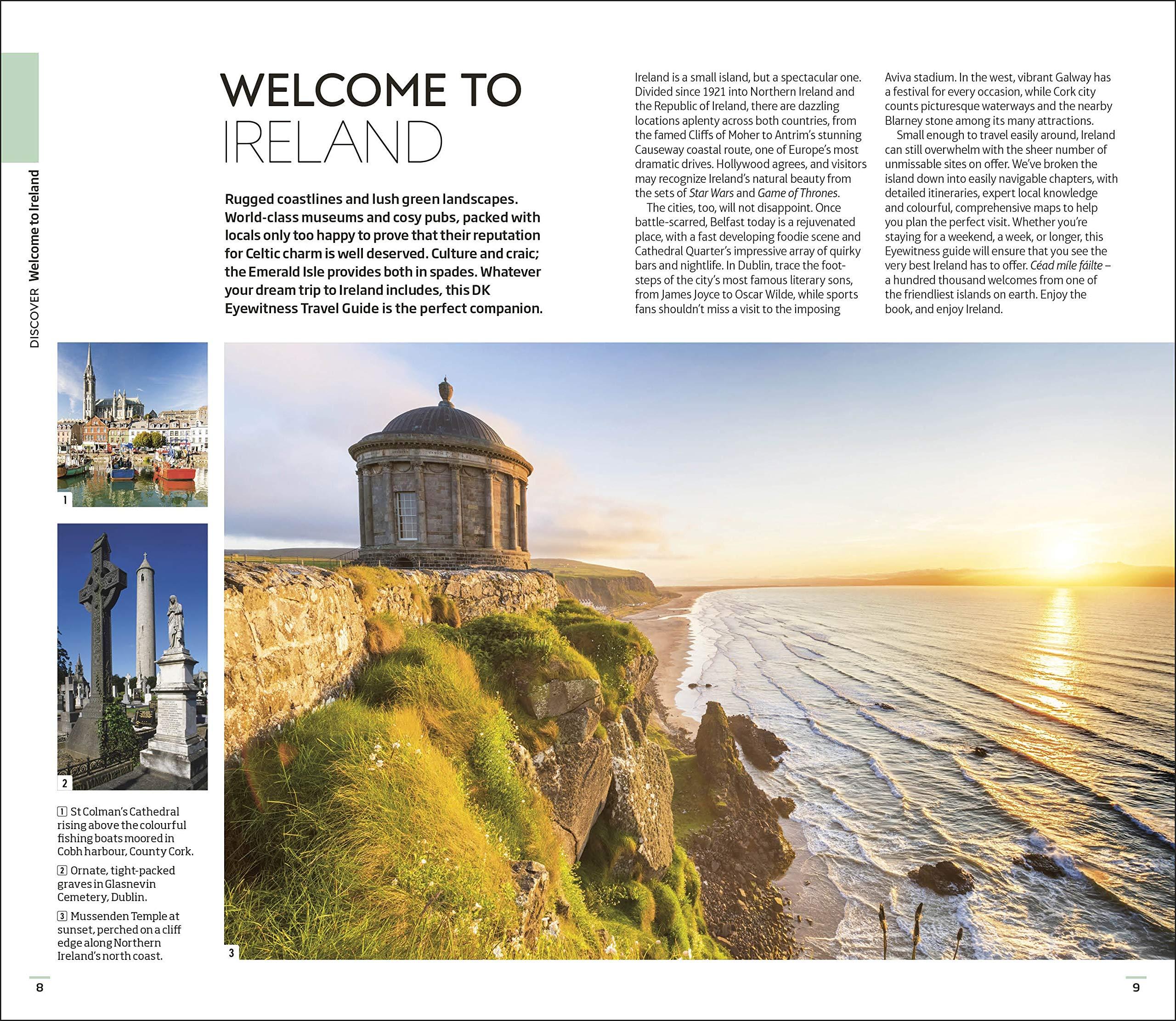 DK Eyewitness Travel Guide Ireland: 2019: DK Travel (author):  9780241311813: Amazon.com: Books