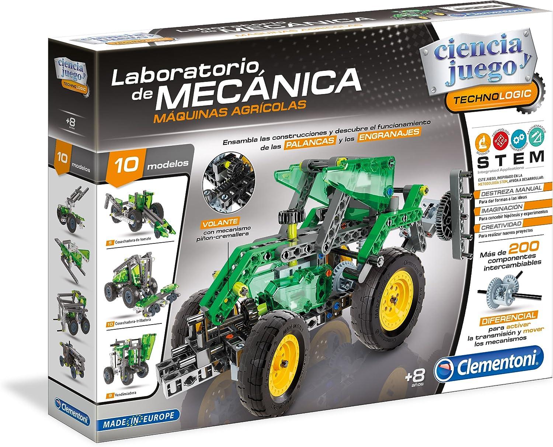 Clementoni- Laboratorio de mecánica, maquinas agrícolas, Multicolor, Miscelanea (55162.0)